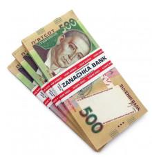 Деньги сувенирные 500 гривен  купить в интернет магазине подарков ПраздникШоп