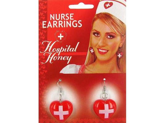 Медсестра sexy-серьги купить в интернет магазине подарков ПраздникШоп