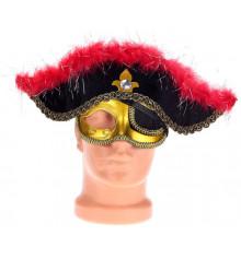 """Шляпа-маска """"Пират маскарад"""" купить в интернет магазине подарков ПраздникШоп"""