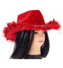 """Шляпа """"Красный гламурчик"""" купить в интернет магазине подарков ПраздникШоп"""