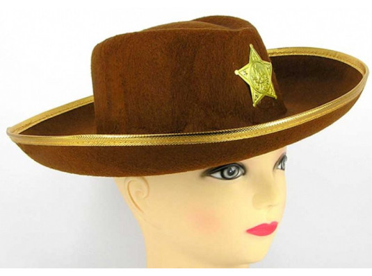 """Шляпа """"Шериф"""" детская купить в интернет магазине подарков ПраздникШоп"""
