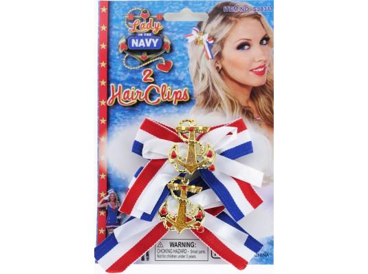 Морская заколка для леди, набор 2 шт купить в интернет магазине подарков ПраздникШоп