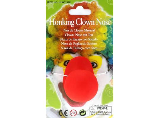 Нос клоуна большой купить в интернет магазине подарков ПраздникШоп