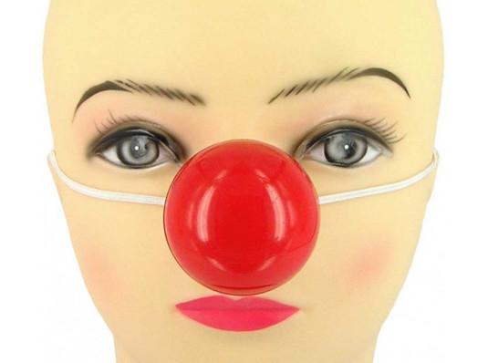 Нос клоунский-flash купить в интернет магазине подарков ПраздникШоп