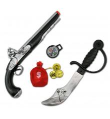 Набор пирата с мушкетом и саблей купить в интернет магазине подарков ПраздникШоп