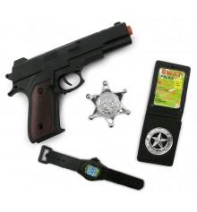 Набор полицейского ( 4 предмета ) купить в интернет магазине подарков ПраздникШоп