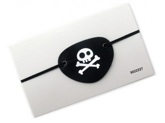 Повязка Пирата на глаз ( кожаная ) купить в интернет магазине подарков ПраздникШоп