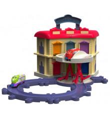 Игровой набор «Депо с подъемным механизмом» купить в интернет магазине подарков ПраздникШоп