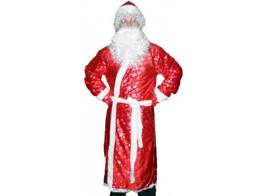 """Костюм """"Дед Мороз с рисунком"""" купить в интернет магазине подарков ПраздникШоп"""