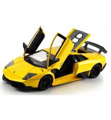 Машинка р/у 1:18 Meizhi лиценз. Lamborghini LP670-4 SV металлическая (желтый) купить в интернет магазине подарков ПраздникШоп