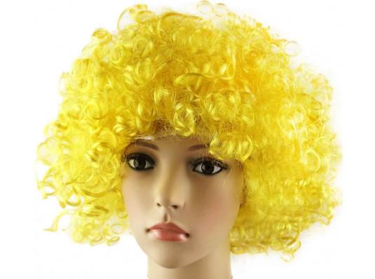 Парик клоуна желтый купить в интернет магазине подарков ПраздникШоп