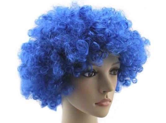Парик клоуна синий купить в интернет магазине подарков ПраздникШоп