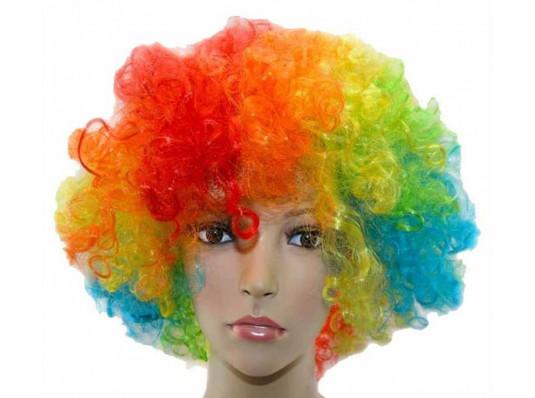 Парик «Клоун» (цветной) купить в интернет магазине подарков ПраздникШоп