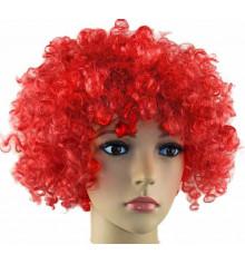 Парик клоуна красный купить в интернет магазине подарков ПраздникШоп