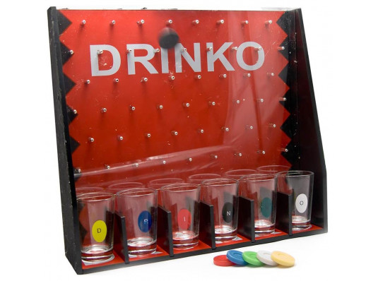 Игра Дринко с рюмками купить в интернет магазине подарков ПраздникШоп