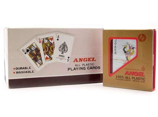 """Карты игральные пластиковые """"Angel"""" купить в интернет магазине подарков ПраздникШоп"""