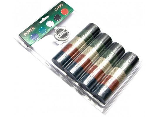 Покерные фишки ( 200 фишек ) купить в интернет магазине подарков ПраздникШоп