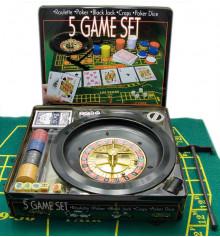 Покерный набор + рулетка купить в интернет магазине подарков ПраздникШоп