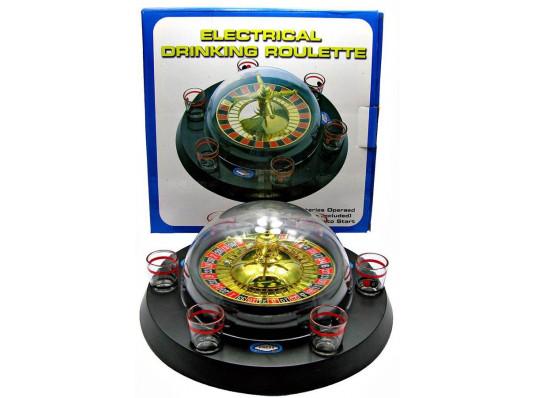 Рулетка электронная с набором рюмок купить в интернет магазине подарков ПраздникШоп