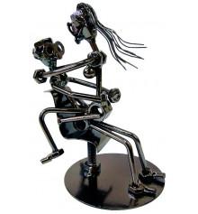 """Техно-арт статуэтка """"Любовь в офисе"""" купить в интернет магазине подарков ПраздникШоп"""
