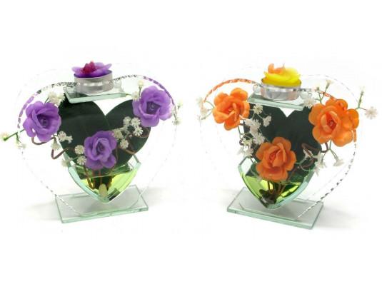 Цветок в стекле №2 купить в интернет магазине подарков ПраздникШоп