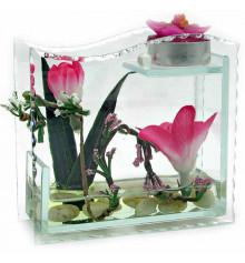 Цветок в стекле №3 купить в интернет магазине подарков ПраздникШоп
