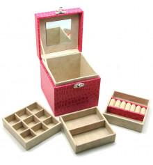 Шкатулка для бижутерии №13 купить в интернет магазине подарков ПраздникШоп