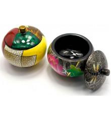 Шкатулка дерево круглая №1 купить в интернет магазине подарков ПраздникШоп