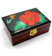 Шкатулка для бижутерии дерево №1 купить в интернет магазине подарков ПраздникШоп