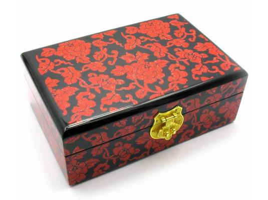 Шкатулка для бижутерии дерево №2 купить в интернет магазине подарков ПраздникШоп