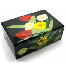 Шкатулка для бижутерии дерево №3 купить в интернет магазине подарков ПраздникШоп