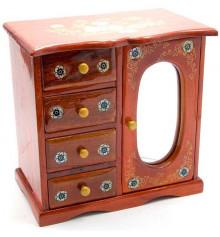 Шкатулка с зеркалом №2 купить в интернет магазине подарков ПраздникШоп