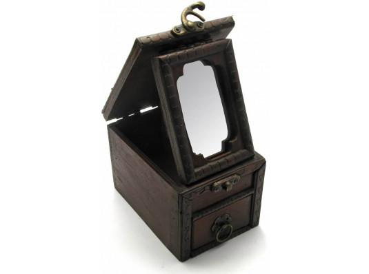 Шкатулка с зеркалом №3 купить в интернет магазине подарков ПраздникШоп