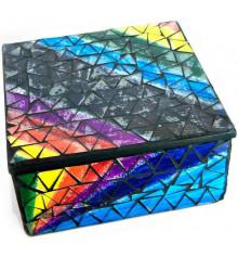 Шкатулка для украшений мозаичная №1 купить в интернет магазине подарков ПраздникШоп