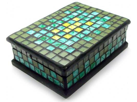 Шкатулка для украшений мозаичная №3 купить в интернет магазине подарков ПраздникШоп
