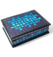 Шкатулка для украшений мозаичная №4 купить в интернет магазине подарков ПраздникШоп
