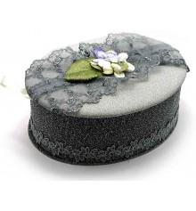 Шкатулка для бижутерии ткань №1 купить в интернет магазине подарков ПраздникШоп
