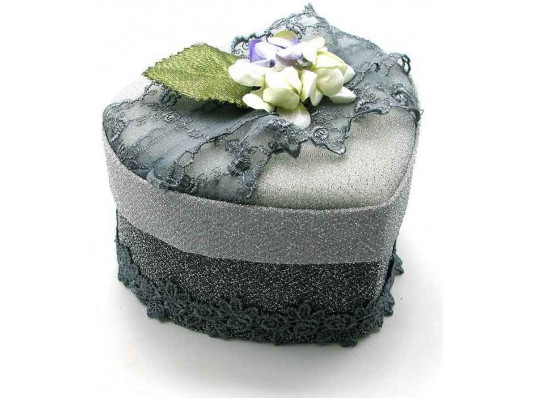 Шкатулка для бижутерии ткань №2 купить в интернет магазине подарков ПраздникШоп
