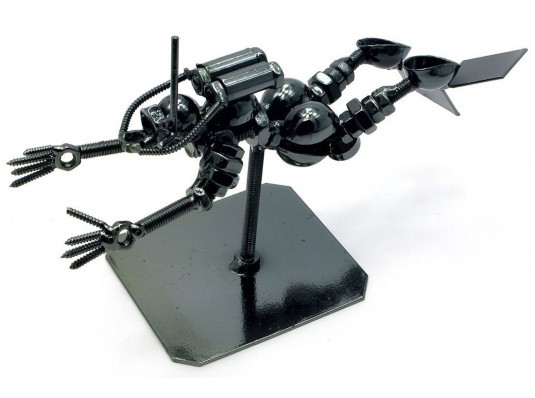 """Техно-арт статуэтка """"Аквалангист"""" купить в интернет магазине подарков ПраздникШоп"""