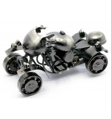 "Техно-арт статуэтка ""Квадроцикл"" купить в интернет магазине подарков ПраздникШоп"