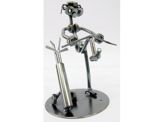 """Техно-арт статуэтка """"Игрок в гольф"""" купить в интернет магазине подарков ПраздникШоп"""