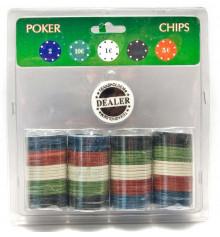 Покерные фишки ( 100 штук ) купить в интернет магазине подарков ПраздникШоп