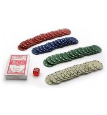Покерный набор ( колода карт + 60 фишек ) купить в интернет магазине подарков ПраздникШоп