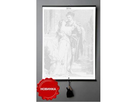 """Книга на холсте """"Ромео и Джульетта"""" (Уильям Шекспир) на английском купить в интернет магазине подарков ПраздникШоп"""