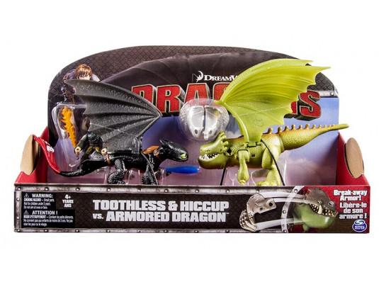 Иккинг и Беззубик против дракона в броне купить в интернет магазине подарков ПраздникШоп