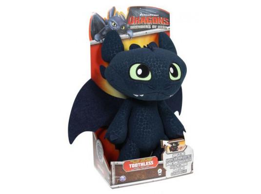Мягкий дракон Беззубик со звуковыми эффектами купить в интернет магазине подарков ПраздникШоп