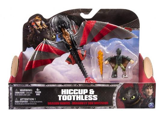 Иккинг в маске и дракон Беззубик в боевой раскраске купить в интернет магазине подарков ПраздникШоп