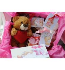 Подарочный набор «Teddy Bear» купить в интернет магазине подарков ПраздникШоп