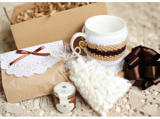 Подарочный набор «Горячий шоколад» купить в интернет магазине подарков ПраздникШоп