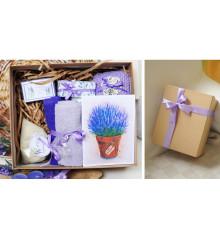 Подарочный набор «Лаванда Арома» купить в интернет магазине подарков ПраздникШоп